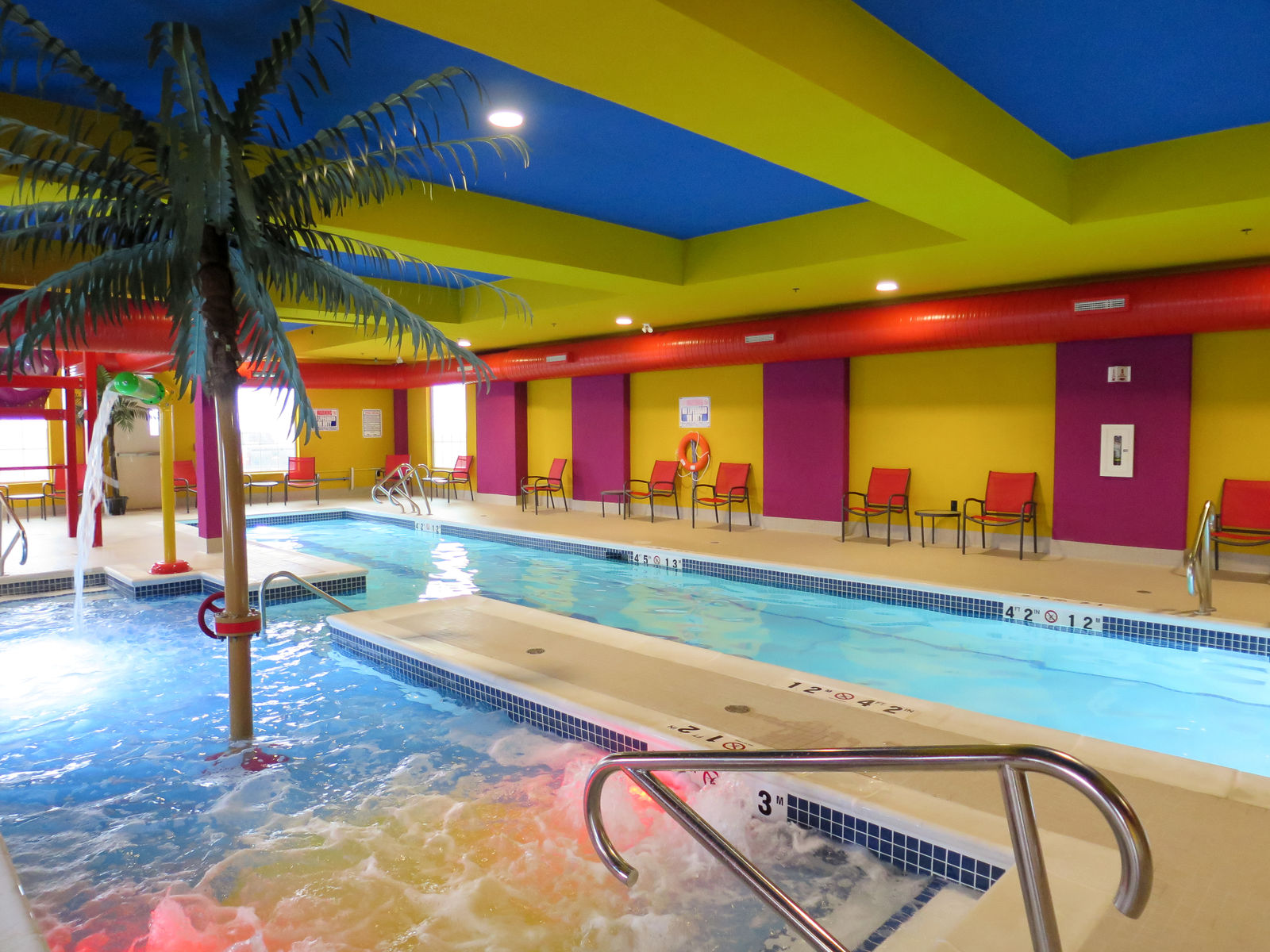 Families enjoy getting away to the Comfort Suites Regina Hotel for its incredible indoor waterpark.
