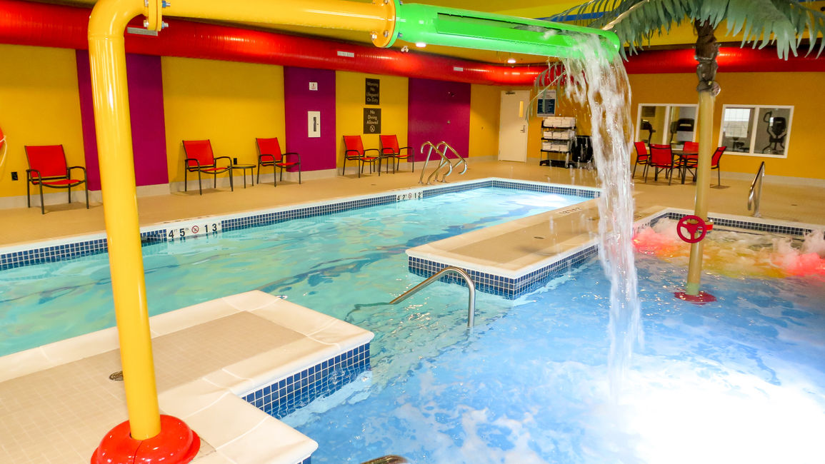 Kid friendly Indoor Water Park