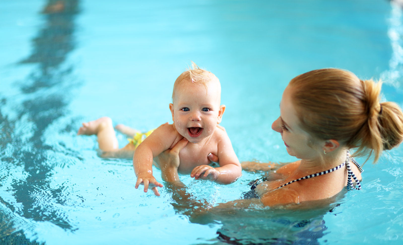 Don't forget to pack swim diapers if you are staying at a Regina hotel with a swimming pool.